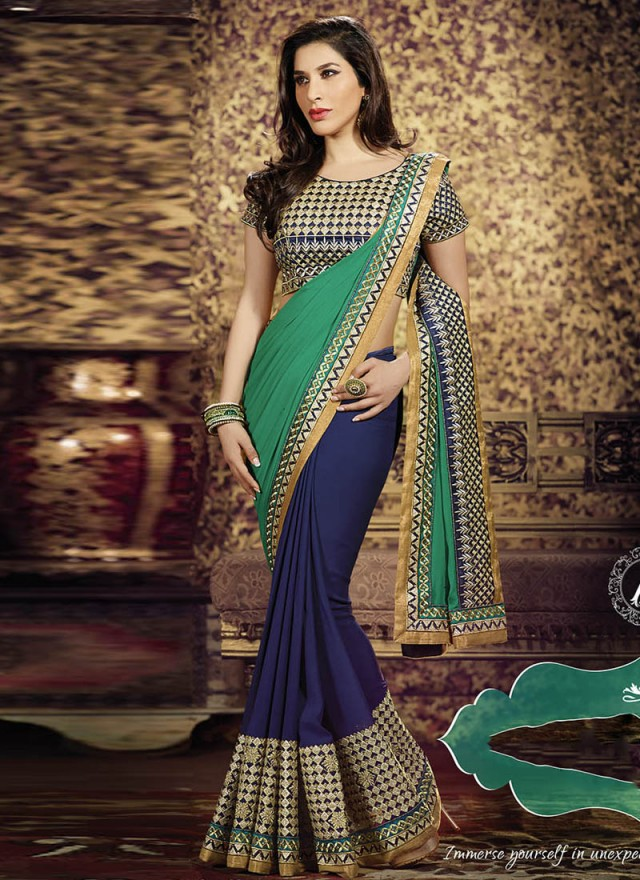 latest designer work saree 171 onlineshoppingforwedding
